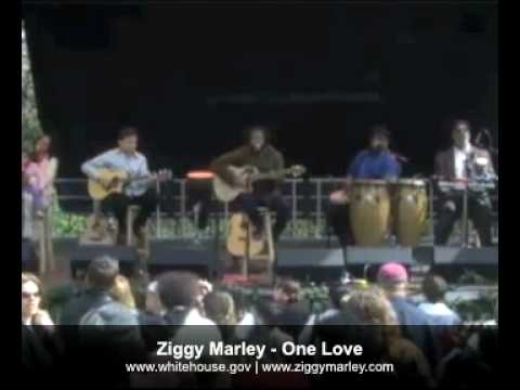 Ziggy Marley - One Love (Live White House Easter Egg Roll)