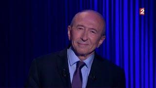 Gérard Collomb - On n'est pas couché 30 septembre 2017 #ONPC