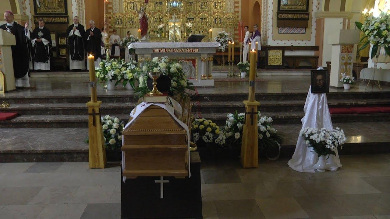 Pożegnano ks. kanonika Jana Gackę