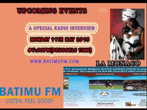 BATIMUFM : UPCOMING EVENTS RADIO INTERVIEW WITH LA MONACO