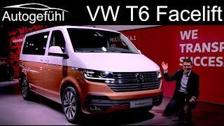 VW T6 Facelift REVIEW Volkswagen Bulli Multivan 6.1 - Autogefühl