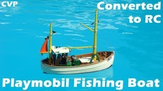 CVP - The RC Playmobil Fishing Boat by Thomas