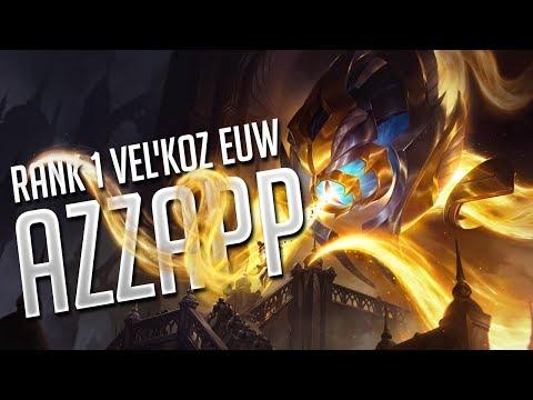 Azzapp - Rank 1 Vel'Koz EUW - Best Vel'Koz Plays 2017