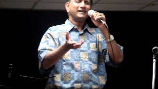 Raju Idury sings Chuchedavelano Pranayasundari at Houston Progam in April 2010