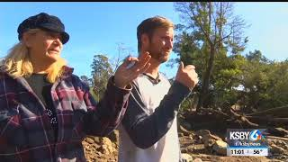 After searching for hours, man learns mother died in mudslide
