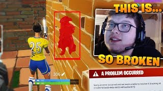 Aydan Exploits an OVERPOWERED Wall Phasing GLITCH To Shoot THROUGH WALLS!