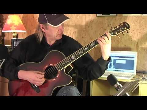New Age Marlon Roudette Guitar Lesson by Siggi Mertens