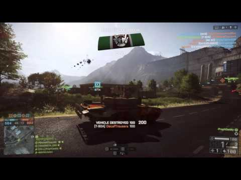 Three Shots For Your Viewing BF4 Tanking