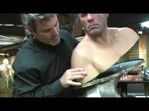 Randy Couture - Life Cast by Amalgamated Dynamics, Inc. Video