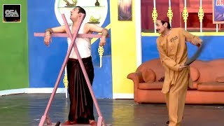 IFTIKHAR THAKUR NE ZAFRI KHAN KO MARA 2019 New Stage Drama Best Comedy Clip ||Very Funny😂