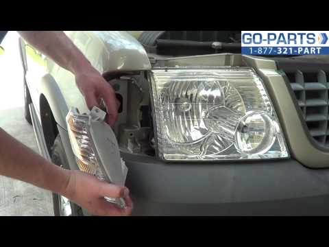 Replace 2001-2005 Ford Explorer Turn Signal / Bulb. How to Change Install 2002 2003 2004