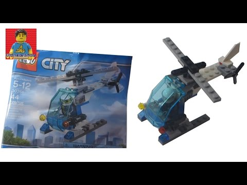 LEGO City - Police Helicopter Polybag Review set 30351