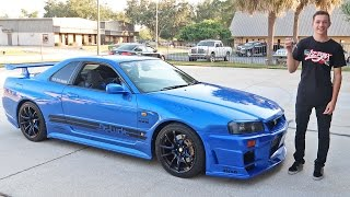 Driving an R34 Skyline GTR in the USA