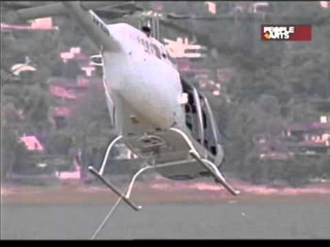 Aterrador accidente en helicoptero actor andres garcia