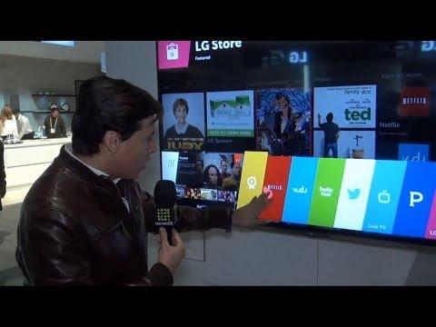 LG apuesta al uso del ex-sistema operativo para móviles WebOS en su presente y futura línea de TVs