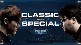 Classic vs SpeCial - Group D Decider - 2018 WCS Global Finals - StarCraft II
