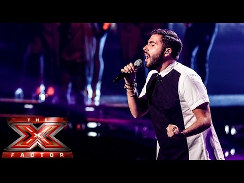 Andrea Faustini sings Michael Jackson's Earth Song   Live Week 1   The X Factor UK 2014