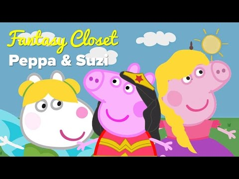 Fancy Dress Costumes Peppa Pig Fantasy Closet Finger Family Song Instrumental Nursery Rhymes Music