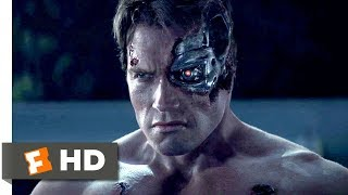 Terminator Genisys (2015) - Pops vs. the T-800 Scene (1/10)   Movieclips