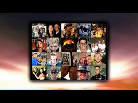 Arizona Diamondbacks honor the fallen 19 Yarnell Firefighters - 7/5/2013
