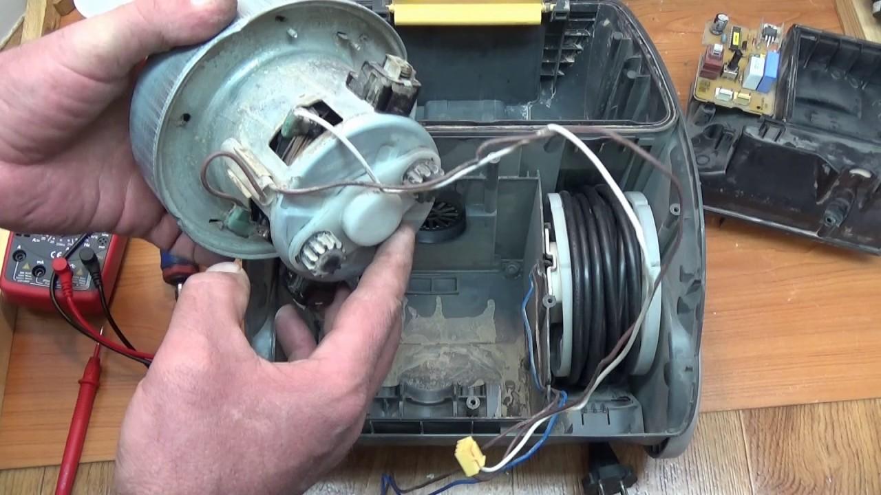 Ремонт двигатель пылесоса самсунга