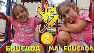 Criança educada VS mal educada #2 - MC Divertida
