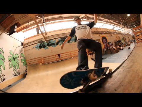AINcaliTripping episode 3 - The Hundreds mini ramp session