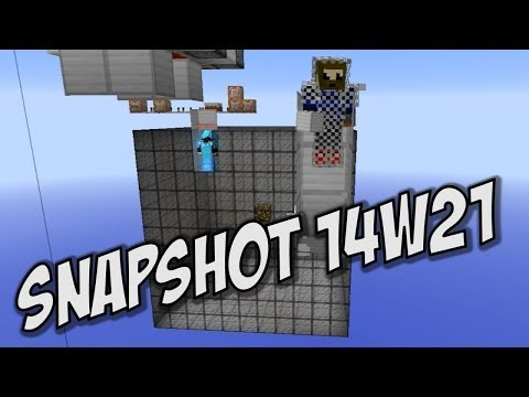 Minecraft 1.8: Snapshot 14w21a - Entity Onscreen Names and a simple X-Ray Setup