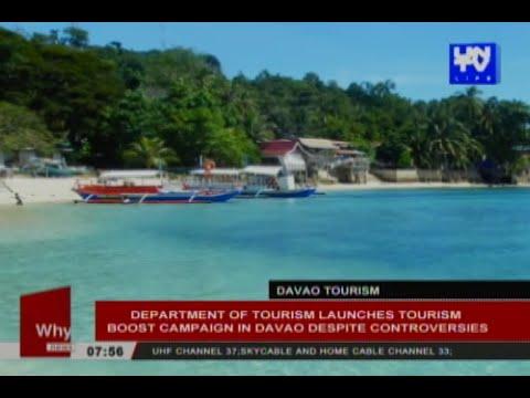 DOT launches tourism boost campaign in Davao despite controversies