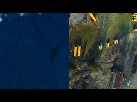 A Satellite Photo Of Megalodon? | Shark Week