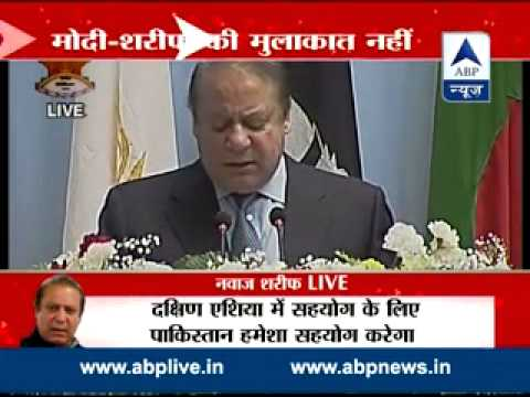 Nawaz Sharif calls for 'dispute free South Asia' in SAARC address