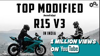 Yamaha R15 V3.0 best modified 2019  Bandidos PITSTOP