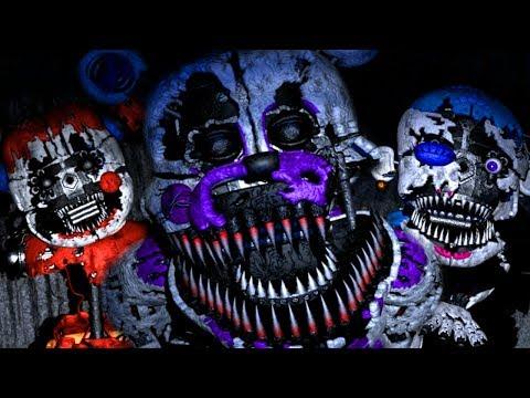 NEW NIGHTMARE FUNTIME ANIMATRONICS ATTACK! | Baby's Nightmare Circus Classic Mode (NEW GAME)
