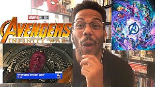 "Avengers: Infinity War - Movie Clip ""Shuri Saves Vision"" Reaction!"