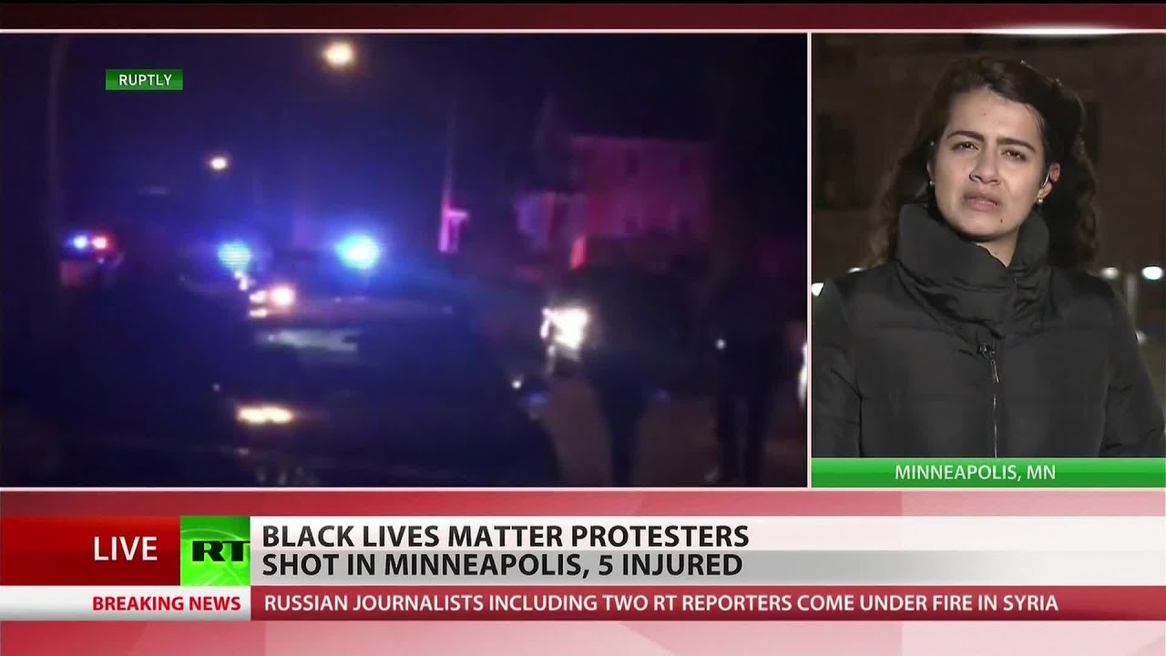 Black Lives Matter protests continue in Minneapolis after 5 members shot at rally