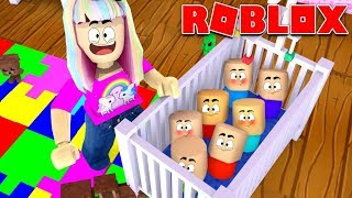 Roblox   I Adopted The Biggest Family Ever!