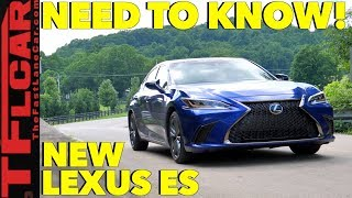 The Top 10 Things You Need To Know About The New 2019 Lexus ES