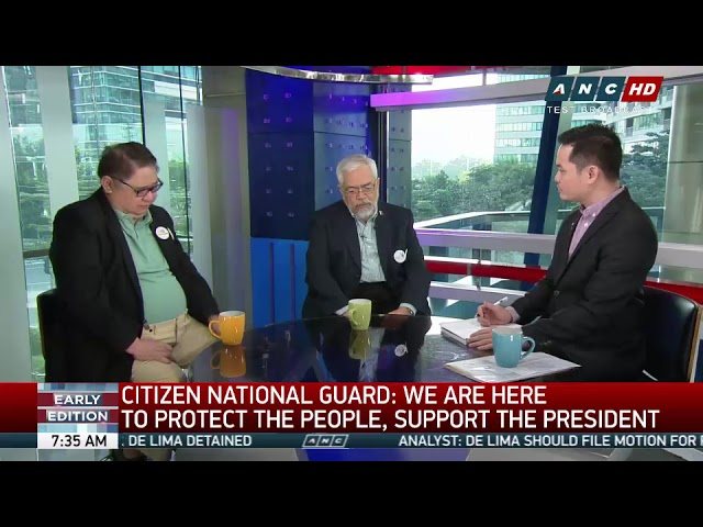 'Let Duterte do his job,' Citizen National Guard tells admin critics (part 2)