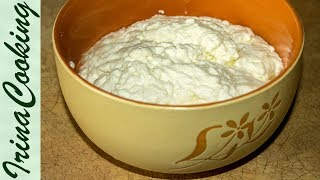 Вкусный ТВОРОГ В ДОМАШНИХ УСЛОВИЯХ - рецепт   Delicious Homemade Cottage Cheese