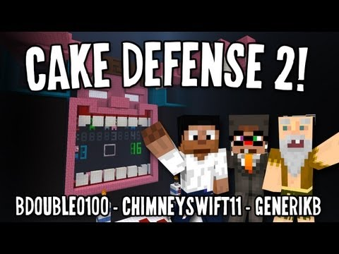 Cake Defense 2 w/ Bdubs & CHIMNEYSWIFT!!! (Part 2 of 2)