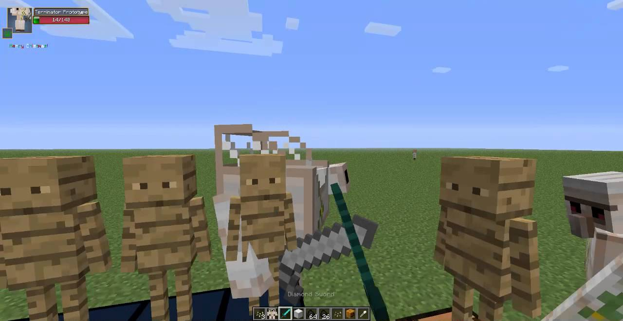 how to build golem in minecraft