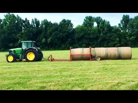Amazing and Modern Tractors in Action | Tractor Engine Sound