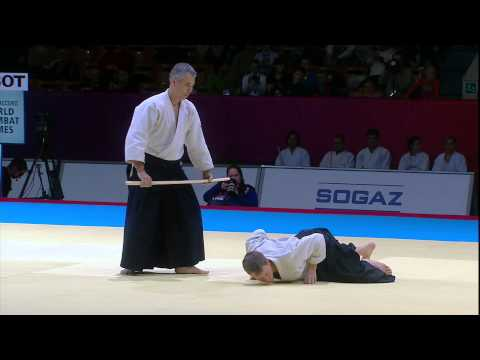 Aikido Bokken Demonstration Mexico & Australia SportAccord World Combat Games 2013 Image 1