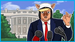 Garry's Mod Deathrun Donald Trump Edition! - CHINA, Small Loan, Covfefe, Putin, and Ragdoll Fight!