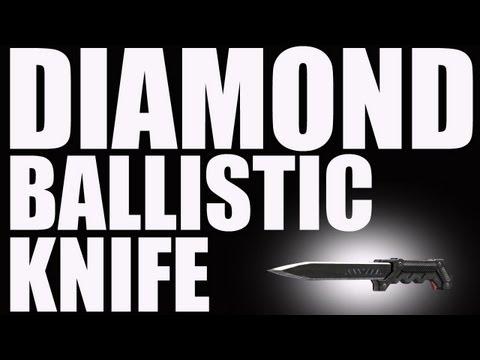 Ballistic Knife Black Ops Gameplay Diamond Ballistic Knife Black