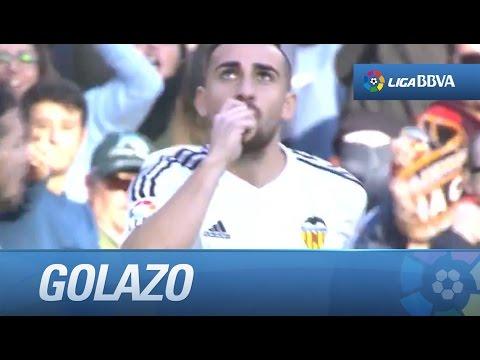 Golazo de Paco Alcácer (1-1) Valencia CF - Getafe CF