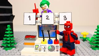 Lego Spider-man Matching wrong Brick Objects Superheroes fun video for kids