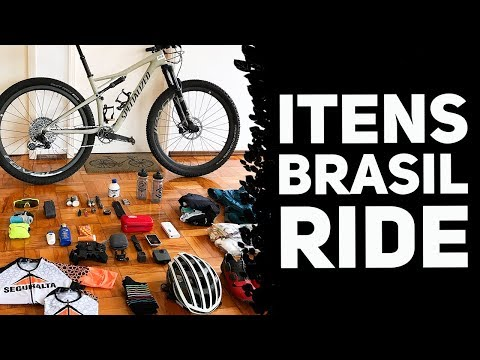 ITENS QUE VOU LEVAR NA BRASIL RIDE - Equipamentos, comidas, ferramentas, etc thumbnail