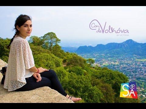 Victoria Volkóva en #ConVdeVolkóva visita Tepoztlán con Servicio De Agencia