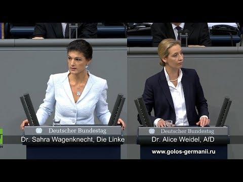 Председатели Левой и Правой партий Германии о Европе [Голос Германии]
